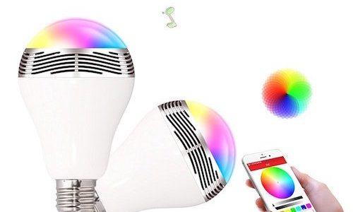 今話題のBluetooth搭載「LED電球スピーカー」おすすめの格安モデル